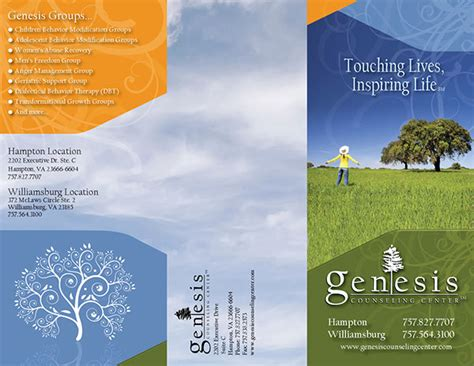 gensesis counseling center on behance