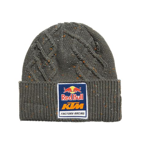 aomcmx red bull ktm factory racing speckled cable knit