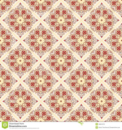 yellow vintage pattern yellow vintage pattern stock vector image 40841270