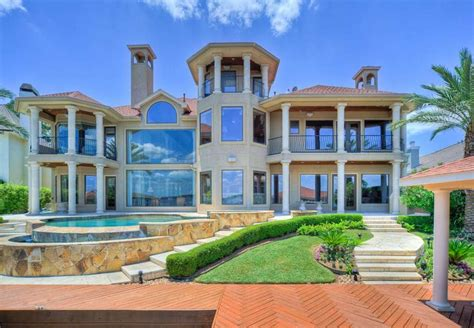 mansions for sale palatial waterfront mansions for sale on lake conroe
