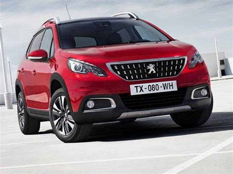 peugeot car leasing uk peugeot 2008 crossover 1 2 puretech 110 allure car