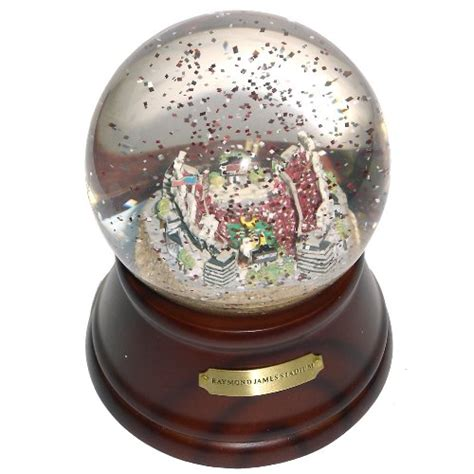 snow globe with fan ta bay buccaneers snow globe buccaneers snow globe