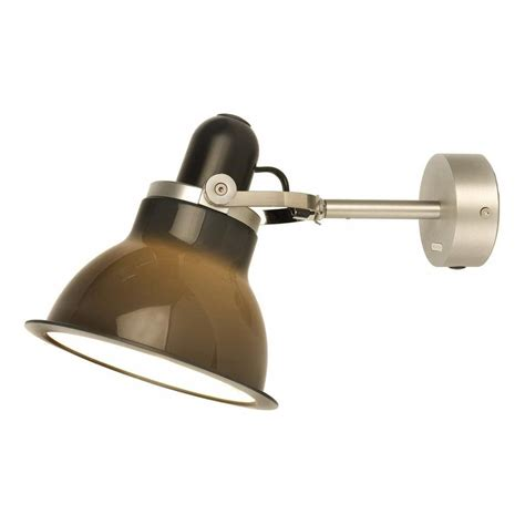 anglepoise type 1228 wall light granite grey lighting