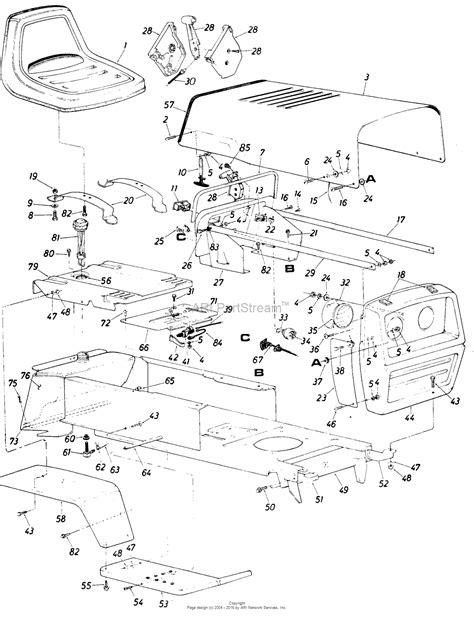 mtd mtd lawnflite 146 834 120 parts diagram for parts