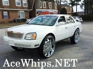 Cadillac On 30s Ace 1 S White Cadillac Devilla On 30 Quot Rockstars
