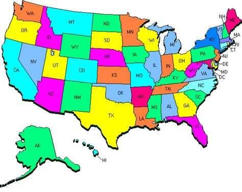 us map states hd reciclaje de refrigeradores