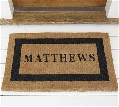 Monogrammed Door Mats by Diy Monogrammed Door Mat Our Suburban Cottage