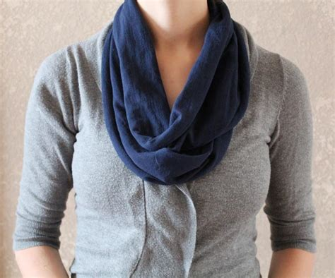 from t shirt to infinity scarf in just two cuts