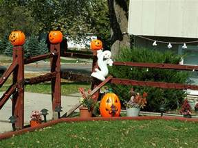 Halloween Yard Decorating Outside Halloween Decorations Ideas Best Outdoor
