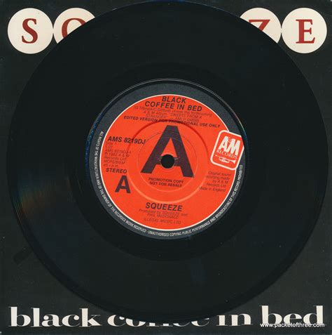 black coffee in bed black coffee in bed uk 7 promotional dj copy packet of three