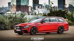 Mercedes Amg E63 Wagon 2018 Mercedes Amg E63 Wagon Render Matches Spied