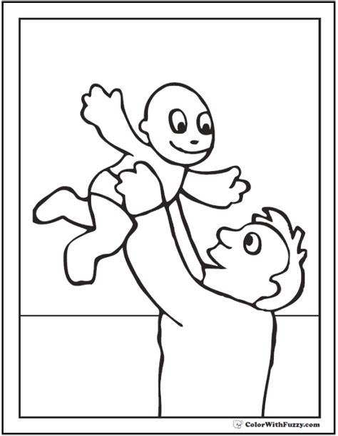 happy birthday son coloring pages father and son coloring page upsy daisy