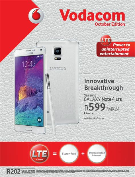 Vodacom Prepaid Deals | vodacom monthly deals booklet for october 2014 sa