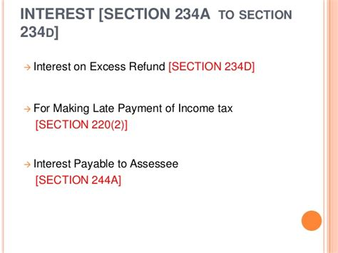 section 234c basics of income tax assessments and appeals