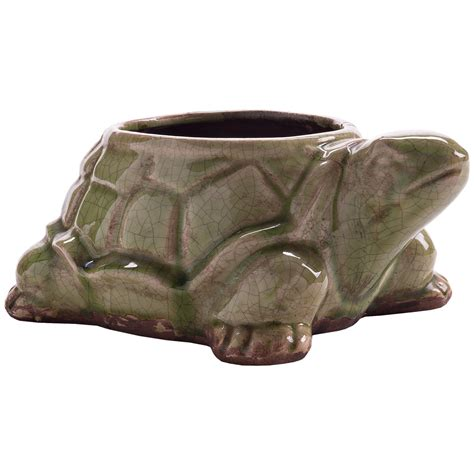 turtle planter napa home garden big daddy turtle planter pot 7089v