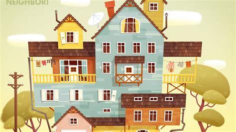 home design game neighbors hello neighbor alpha 2 ep 1 a decorating my house hello neighbor alpha 2 youtube