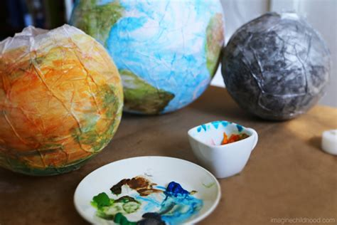 How To Make Planets With Paper - planet lanterns imagine childhood magic memories