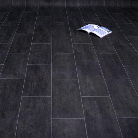 vinylboden schwarz pvc boden schwarz pvc boden fliesenoptik schwarz vinyl