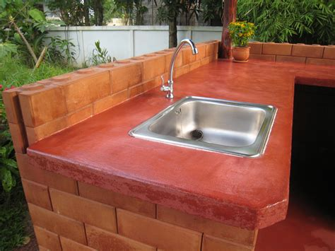 Diy Outdoor Countertops by Durable Affordable Diy Concrete Countertops