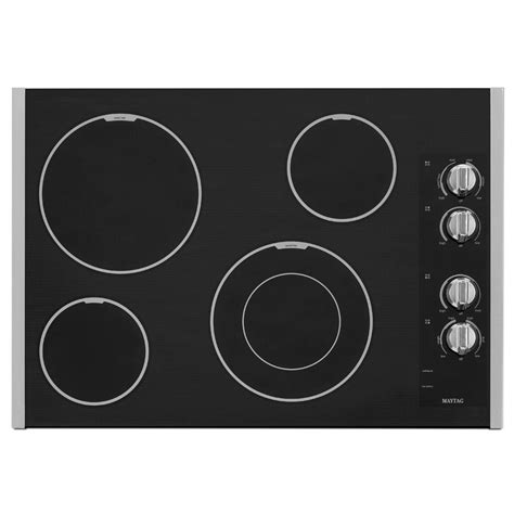 Ceramic Cooktop Lg Studio 30 In Radiant Electric Cooktop In Stainless