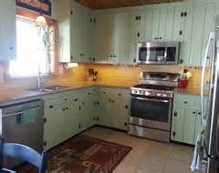 Painting Knotty Pine Kitchen Cabinets Painting Over Knotty Pine
