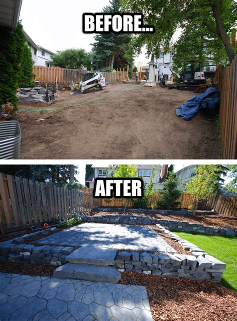 Backyard Renovations Before And After by 100 Backyard Renovations Before And After Before And After U2013 Design Sponge Patio