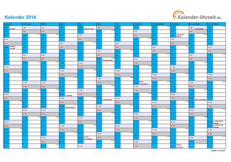 Schönherr Kalender 2014 Zum Ausdrucken Kalender 2014 Mit Feiertagen