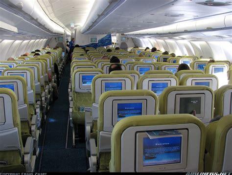 Airbus A340 300 Interior by Airbus A340 313 Air Mauritius Aviation Photo 1272016