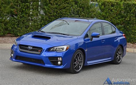 subaru sti 2016 2016 subaru wrx sti limited review test drive