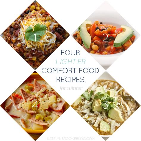 Comfort Food Kate by Four Lighter Comfort Food Recipes