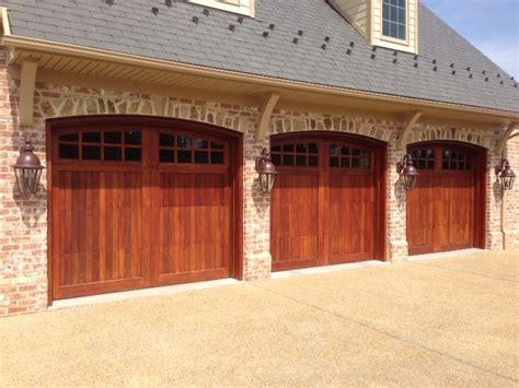 Mahogany Garage Door Mahogany Garage Doors Carriage Doors Dc Metro By Clingerman Doors Custom Wood Garage Doors