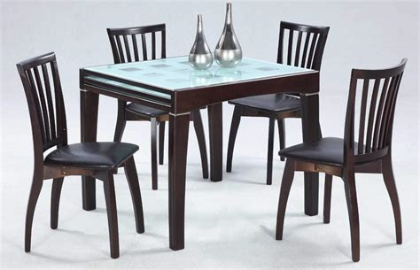 creative new dining table designs with glass top with