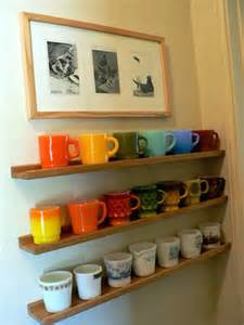 30 and practical diy coffee mugs storage ideas for
