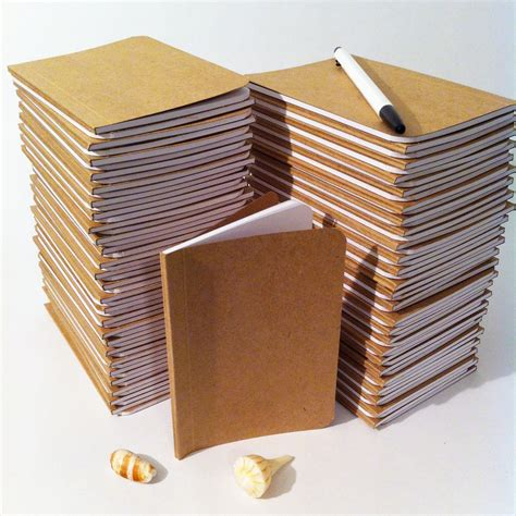 Handmade Notebooks - bulk plain notebooks handmade tiny pocket large journals