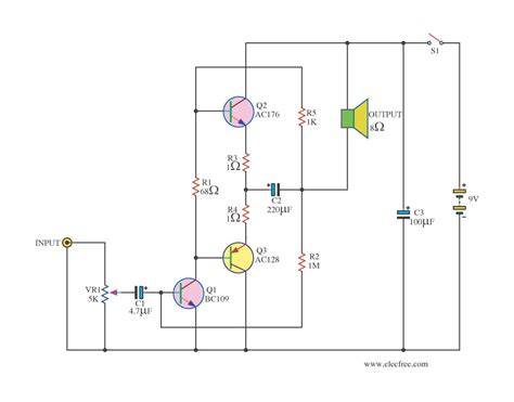 transistor lifier ac small transistor lifier ideals electronic projects circuits