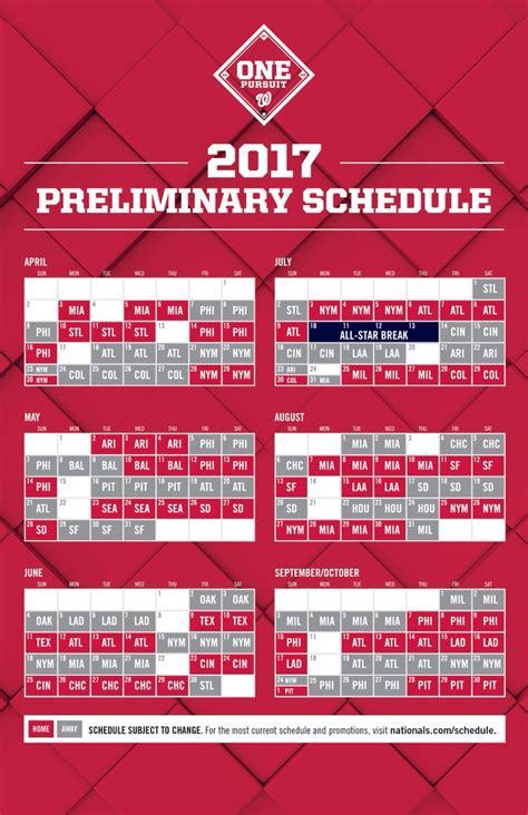 printable schedule washington nationals washington nationals on twitter quot our 2017 schedule is