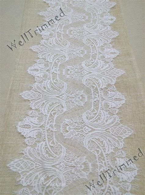 12 table runner 20 ft lace table runner 12 quot wide lace table runner wedding