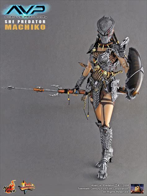 Hottoys Toys Avp She Predator Machiko Mms74 Figure 1000 Genuine Y Figuresworld Gt T V Gt Vs Predator