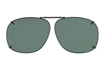 Clip On Square Sunglasses cocoons square 3 clip on sunglasses size 57 gunmetal