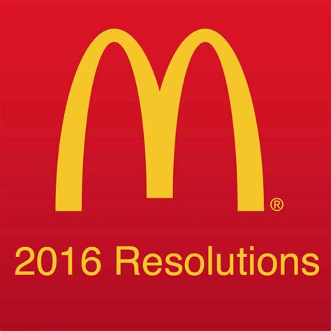 mcdonalds new years day mcdonald s top 7 new year s resolutions for 2016 fooducate