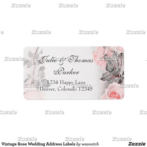 25 best ideas about wedding address labels on pinterest