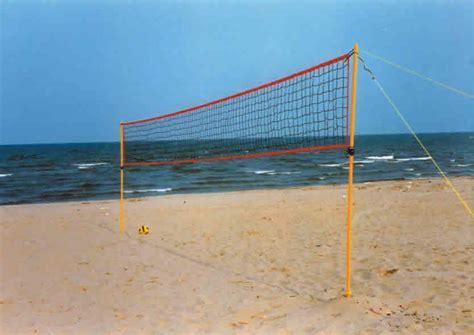 rete pallavolo da giardino forte rubata la rete da volley a spiaggia libera