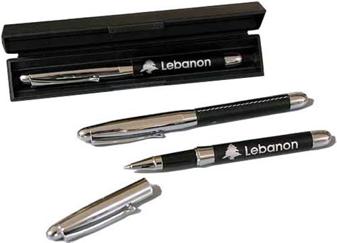 Jual Stainless Steel Souvenir Pen stainless steel pen from lebanon pens slim blue point gifts idea from lebanon leather