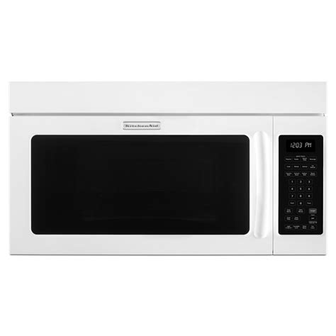 Kitchen Aid Microwaves by Shop Kitchenaid 1 8 Cu Ft The Range Convection