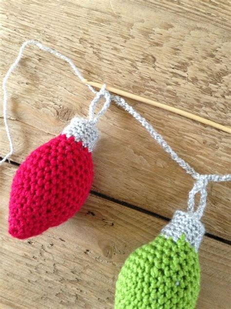 crochet pattern christmas garland crochet world free crochet christmas ornament garland