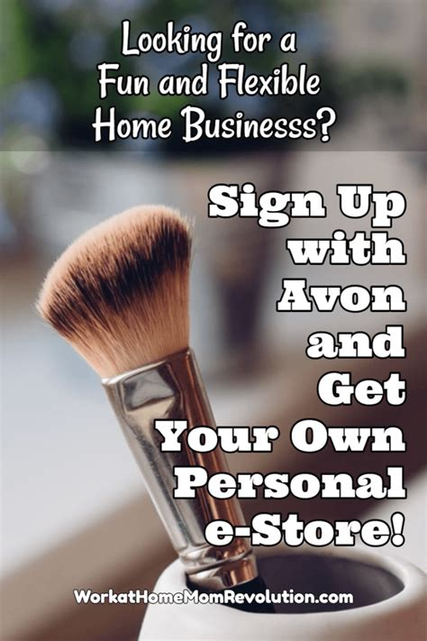 Home Business Ideas Like Avon Start An Avon Home Business Get A Personal Estore Work