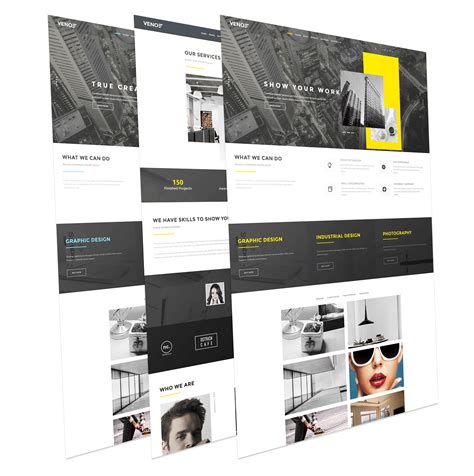 portfolio joomla template veno creative portfolio joomla template