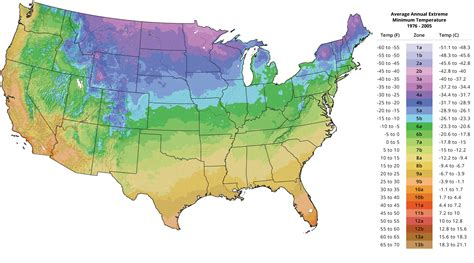 Plant Hardiness Zone Map   The Tree Center?