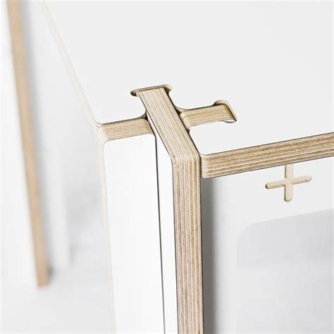 Minimal Table Design by Minimal Waste Table By Fraaiheid Design Milk