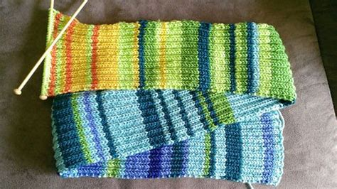 knitting pattern codes my year in temperatures scarf the colors code for the